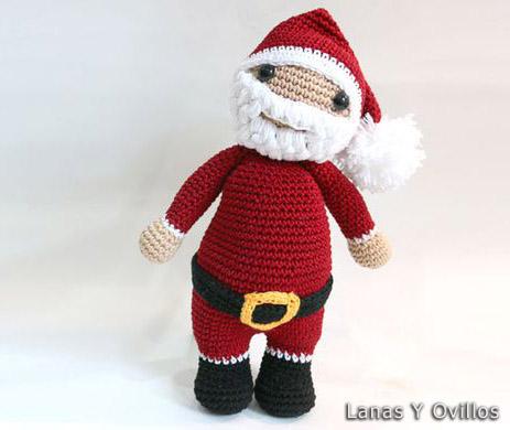 Amigurumi Pattern Crochet Santa Claus Doll DIY Digital | Etsy | 390x463
