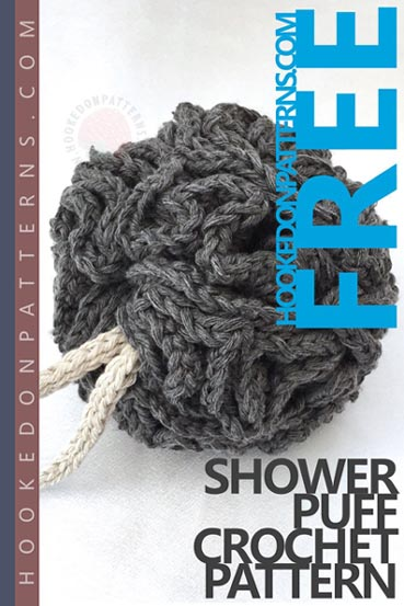 Free Crochet Pattern Shower Puff