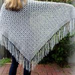 Free Crochet Pattern Spider Stitch Shawl