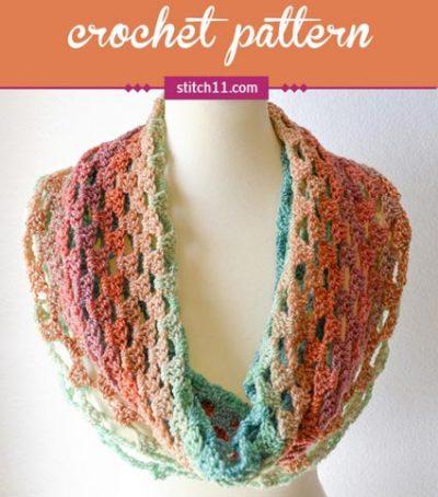 Free Crochet Pattern Sweetheart Cowl