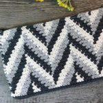 Free Crochet Pattern Tapestry Clutch