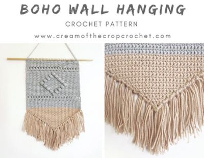 Free Crochet Pattern Boho Wall Hanging