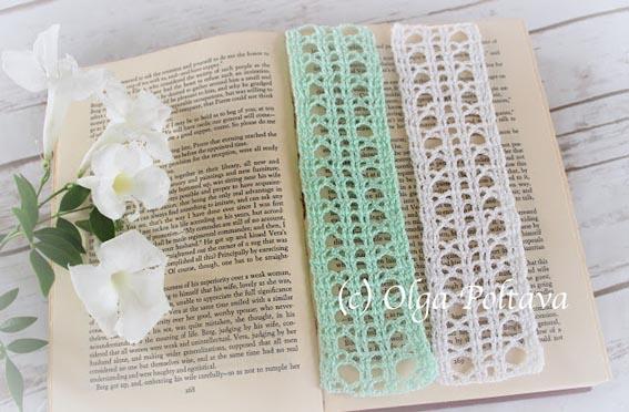 Free Crochet Pattern Bookmark