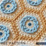 Free Crochet Pattern Cable Hexagon