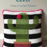 Free Crochet Pattern Cactus Pillow