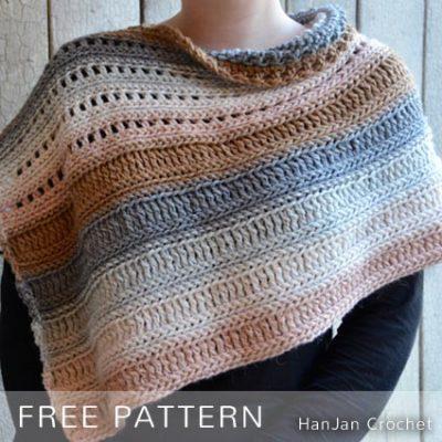 Free Crochet Pattern Coffee Shop Wrap