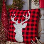 Free Crochet Pattern Deer Pillow