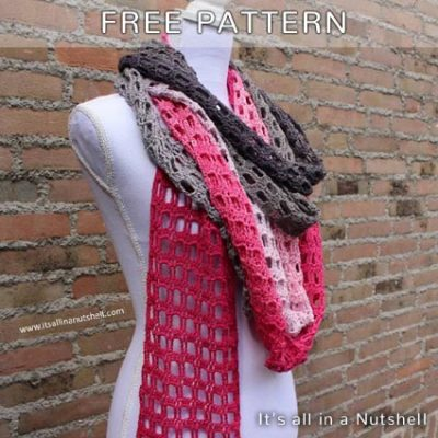 Free Crochet Pattern Endless Love Scarf