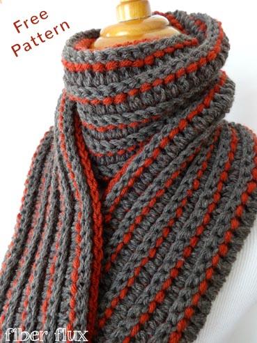Free Crochet Pattern Every Man Scarf