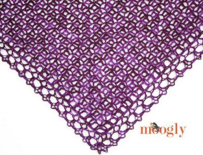 Free Crochet Pattern Fortunes Shawlette