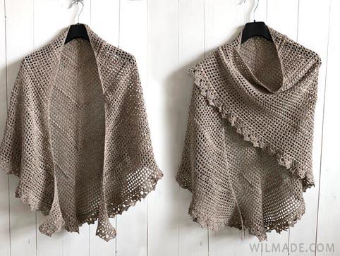 Free Crochet Pattern Friendship Shawl