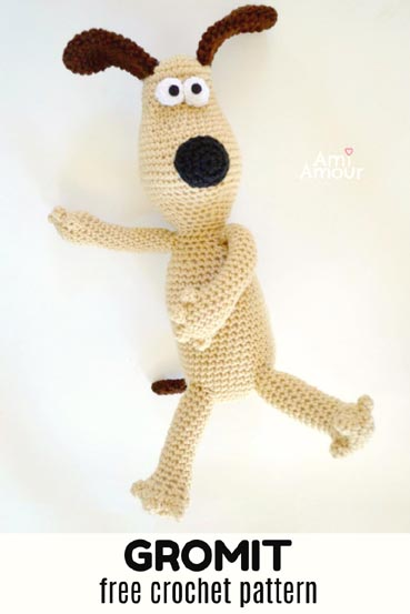 Free Crochet Pattern Gromit Dog