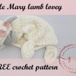 Free Crochet Pattern Lamb Lovey