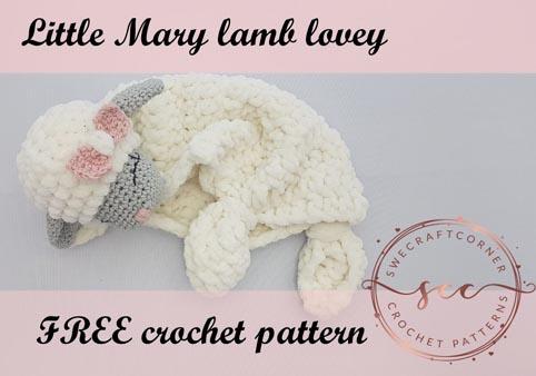 Free Crochet Pattern Lamb Lovey