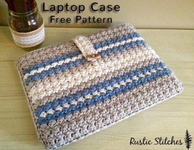 Free Crochet Pattern Laptop Case