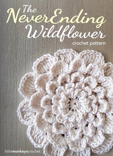 Free Crochet Pattern Neverending Wildflower