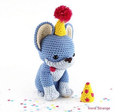 Free Crochet Pattern Party Pup