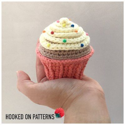 Free Crochet Pattern Pin Cushion Cupcake