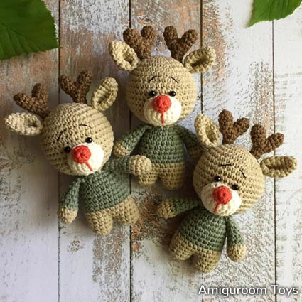 Free Crochet Patterns | Free Crochet Pattern Reindeer - Free Crochet ...