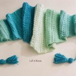 Free Crochet Pattern Snow Drops Scarf