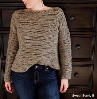 Free Crochet Pattern Sweater