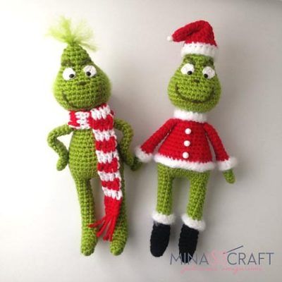 Free Crochet Pattern The Grinch