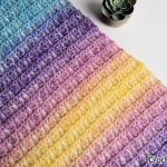Free Crochet Pattern Unicorn in the Mist Shawl