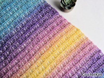 Free Crochet Pattern Unicorn in the Mist Shawl