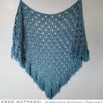 Free Crochet Pattern April Showers Shawl