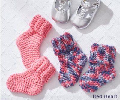 Free Crochet Pattern Baby Socks