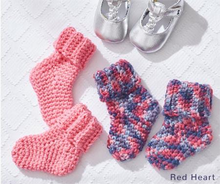 Free Crochet Patterns | Free Crochet Pattern Baby Socks
