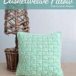 Free Crochet Pattern Basketweave Pillow