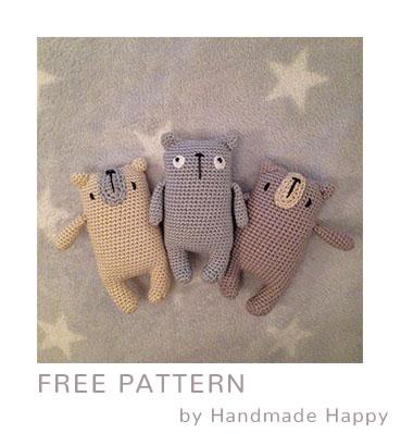 Free Crochet Pattern Bear Miguel