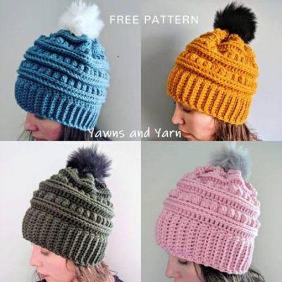 Free Crochet Pattern Bert Hat
