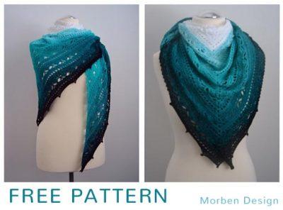 Free Crochet Pattern Bruinen Shawl