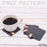Free Crochet Pattern C2C Coasters