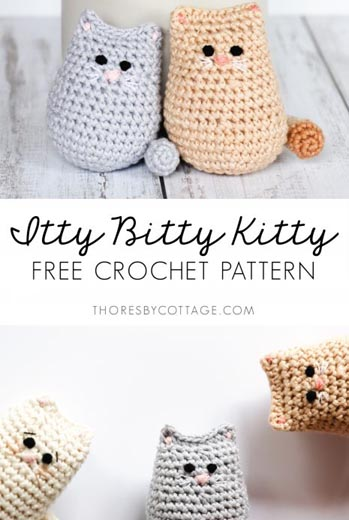 Free Crochet Pattern Cat