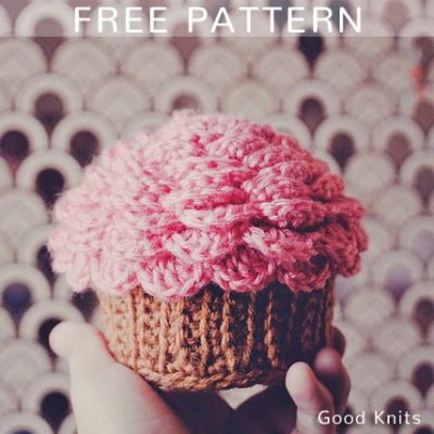 Free Crochet Pattern Cupcake Container