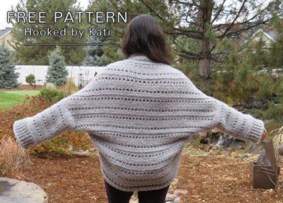 Free Crochet Pattern First Snow Cardigan