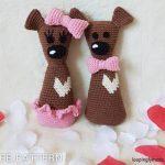 Free Crochet Pattern Heart Teddy