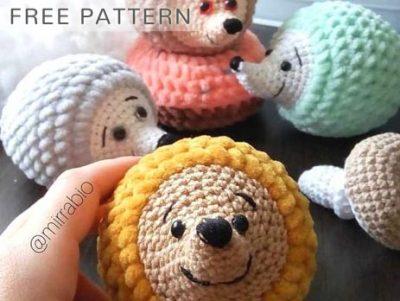Free Crochet Pattern Hedgehog