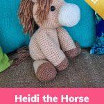 Free Crochet Pattern Heidi the Horse