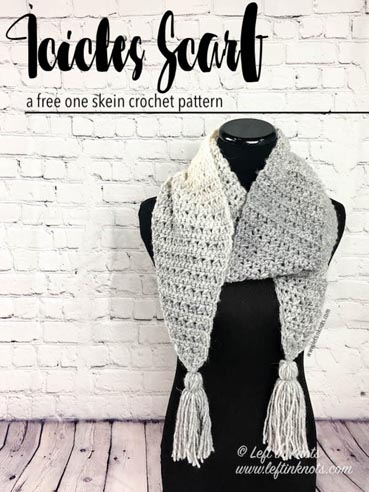 Free Crochet Pattern Icicles Scarf