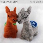 Free Crochet Pattern Llama Amigurumi