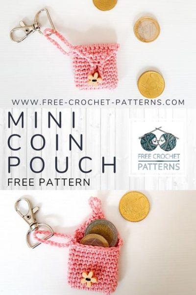 Free Crochet Pattern Mini Coin Pouch