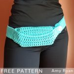 Free Crochet Pattern Phone Waist Bag
