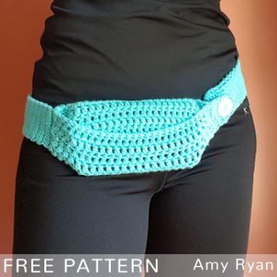 Free Crochet Pattern Phone Waist Bag