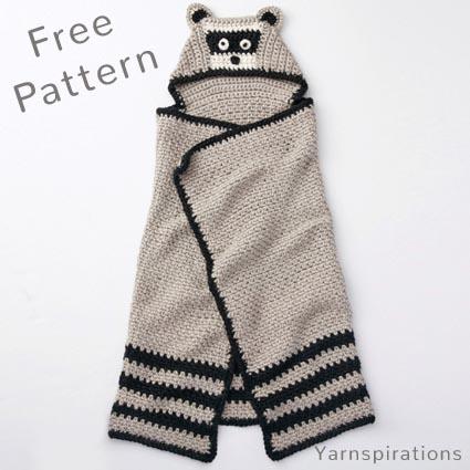 Raccoon Amigurumi, Jr. Rakku - Free Crochet Pattern | Craft Passion | 425x425