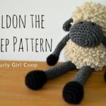 Free Crochet Pattern Sheldon the Sheep