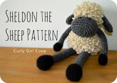 Free Crochet Pattern Sheldon the Sheep